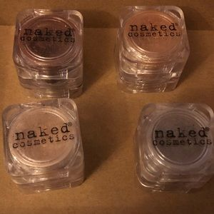 Naked Cosmetics highly pigmented loose shadows
